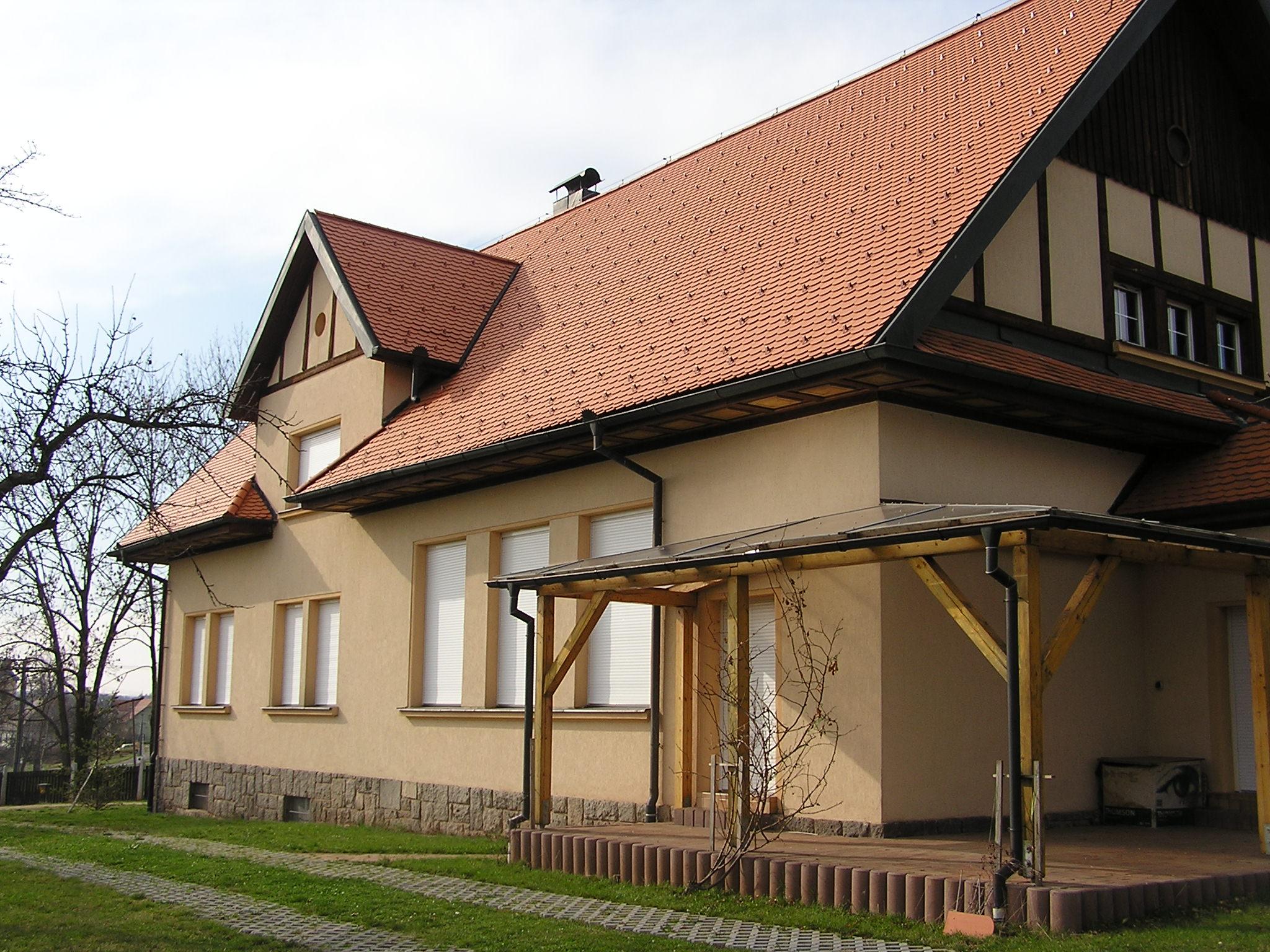 Rekonstrukce střechy rodinného domu v Podbořánkách